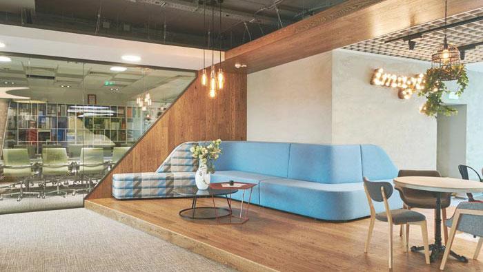 科技公司办公室装修设计